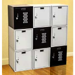 Art Metal Products, Inc. - CUBIX™ KD MODULAR BOX LOCKERS