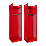 Art Metal Products, Inc. - FULLY-FRAMED ALL-WELDED TURNOUT GEAR LOCKERS