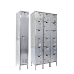 Art Metal Products, Inc. - IN-STOCK 304 STAINLESS STEEL KD WARDROBE & BOX LOCKERS