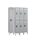 Art Metal Products, Inc. - IN-STOCK MEDSAFE ANTIMICROBIAL KD WARDROBE LOCKERS