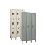 Art Metal Products, Inc. - MAINTENANCE-FREE QUIET KD WARDROBE LOCKERS