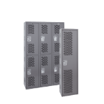 Art Metal Products, Inc. - STOCK SINGLE-POINT WELDED VENTILATED LOCKERS