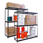 Art Metal Products, Inc. - BLACK RIVETWELL™ SHELVING UNITS