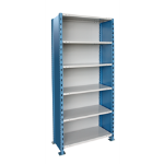 Art Metal Products, Inc. - H-POST HIGH CAPACITY CLOSED-TYPE SHELVING