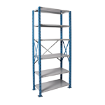 Art Metal Products, Inc. - H-POST HIGH CAPACITY OPEN-TYPE SHELVING