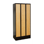 Art Metal Products, Inc. - HYBRID METAL FRAMED WOOD LOCKERS