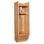 Art Metal Products, Inc. - RECRUITER FINE QUALITY WOOD SPORT LOCKERS