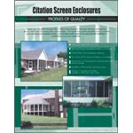 Superior Mason Products LLC - Citation Screen Enclosures