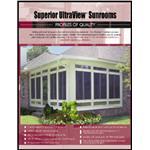 Superior Mason Products LLC - Superior Ultraview™ Sunrooms