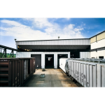 Fleming Steel Company - Craneway Monorail Doors