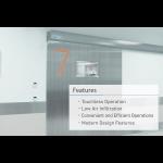 Nabco Entrances Inc. - GT9200 Automatic - NAX Glass Hermetic Sliding Door