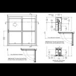 Nabco Entrances Inc. - GT2150 Manual Track Full Breakout-Manual Sliding Door