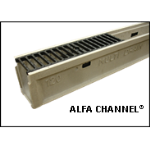 MultiDrain Systems, Inc. - Alfa Channel® Polymer Concrete Trench Drain