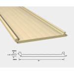 "CENTRIA - Versapanel 1 ¾"" (44mm) - Horizontal Roof Panel System"