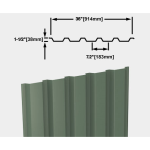 CENTRIA - Exposed Fastener Roof Panels BR5-36