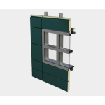 CENTRIA - Formawall Formavue™ FV-600KD Knockdown Window