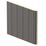 "CENTRIA - TotalClad™ Groove 42"" Insulated Metal Wall Panels"