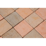 The Belden Brick Company - Pink Pavers:Coral Reef 8x8 Paver - Crestline Brick Pavers