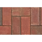 The Belden Brick Company - Red Pavers:Victorian Paver - Crestline Brick Pavers