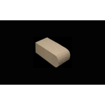 "The Belden Brick Company - 1-1/8"" Radius Full Bullnose Custom Bricks - Bullnoses"