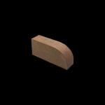"The Belden Brick Company - 3"" Radius Standard Bullnose Rowlock - Bullnoses"