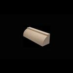 "The Belden Brick Company - 2-1/2"" Radius Bullnose Brick - Bullnoses"