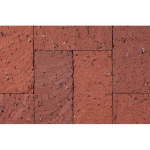 The Belden Brick Company - Red Pavers:Pawnee Red Pavers - Beehive Brick Pavers