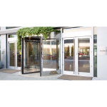 ASSA ABLOY Entrance Systems - Besam RD Series Three- and Four-Wing Compact Revolving Doors