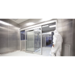 ASSA ABLOY Entrance Systems - SL500 Clean Room Sliding Doors
