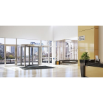 ASSA ABLOY Entrance Systems - ASSA ABLOY RD100 Manual Revolving Door with Smart Assist