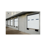 ASSA ABLOY Entrance Systems - Ribbed Open-Back & Insulated Doors - Overhead Sectional Doors