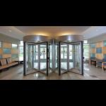 ASSA ABLOY Entrance Systems - Besam RD4A Access Control Revolving Door