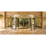 ASSA ABLOY Entrance Systems - UniTurn High Capacity Two-Wing Revolving Door