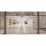 ASSA ABLOY Entrance Systems - Besam SL500 CGL All Glass Commercial Sliding Entrance Door