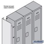Salsbury Industries - Metal Locker Options & Locks - Model # 77362GY