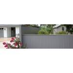 Berridge Metal Roof and Wall Panels - BERRIDGE ARCHITECTURAL PRIVACY FENCE