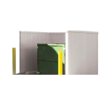 Berridge Metal Roof and Wall Panels - Dumpster Enclosures