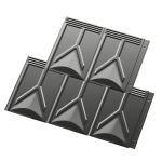 Berridge Metal Roof and Wall Panels - Classic Metal Shingle Roofing System