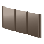 Berridge Metal Roof and Wall Panels - Vee Panel - Metal Wall Panel