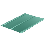 Berridge Metal Roof and Wall Panels - Double-Rib Panel - Exposed Fastener Panel System