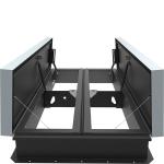Babcock-Davis - Double Door AcousticMAX™ 48 Smoke Vent