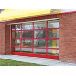 Wayne-Dalton - Model 451 Aluminum Full View Sectional Door