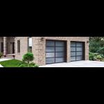Wayne-Dalton - Model 8850 Contemporary Aluminum Garage Doors