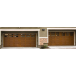 Wayne-Dalton - Model 9800 Designer Fiberglass Garage Doors