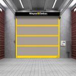 Wayne-Dalton - Model 882 ADV-X Strutted Interior High Speed Fabric Door