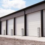 Wayne-Dalton - Model 2411 Non-Insulated Sectional Steel Door