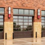 Wayne-Dalton - Model 453 Aluminum Full View Sectional Door