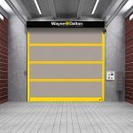 Wayne-Dalton - Model 882 ADV-Xtreme Strutted Interior and Exterior High Speed Fabric Doors