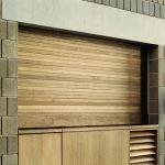 Wayne-Dalton - Wood Counter Shutter Doors Model 530 Wood Roll Up Doors