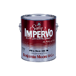 Benjamin Moore & Co - Satin Impervo Alkyd Low Lustre Paint - USA